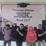 PELEPASAN WISUDAWAN 3 MARET 2017 JURUSAN TEKNIK SIPIL