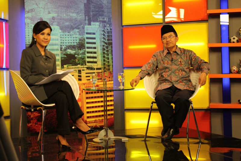 With Jusuf Kalla