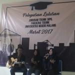 Acara Pelepasan Lulusan Semester Gasal 2016/2017 3 Maret 2017 Jurusan Teknik Sipil