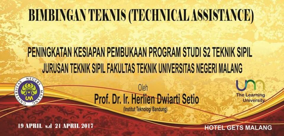 BIMBINGAN TEKNIS (TECHNICAL ASSISTANCE)