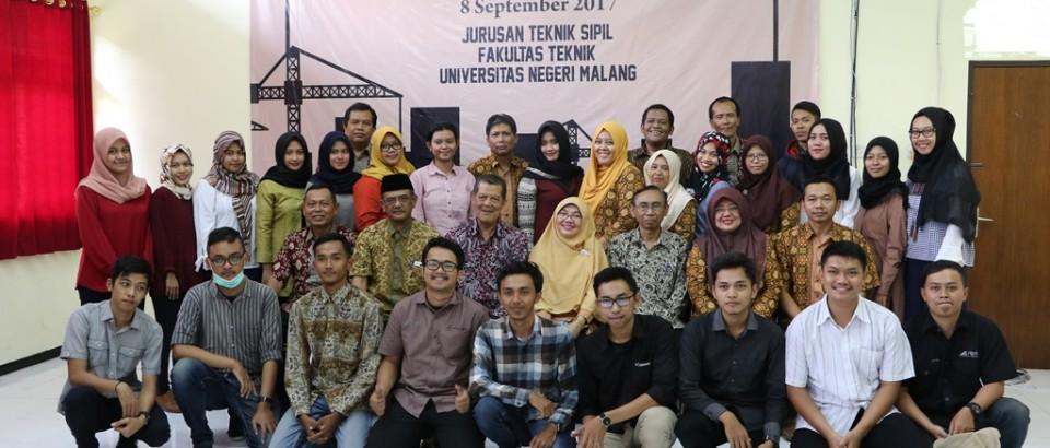 Pelepasan Alumni Jurusan Teknik Sipil Tahun 2017