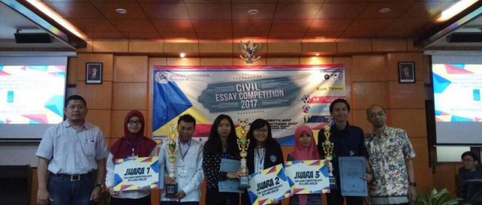 Juara 2 Lomba Civil Essay Competition 2017