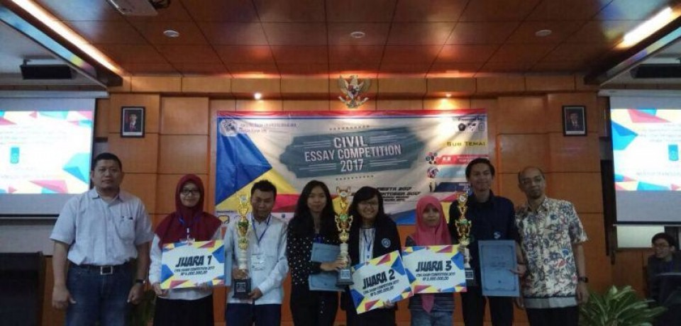 Juara 2 Lomba Civil Essay Competition 2017