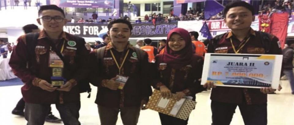 JUARA 2 KOMPETISI JEMBATAN INDONESIA
