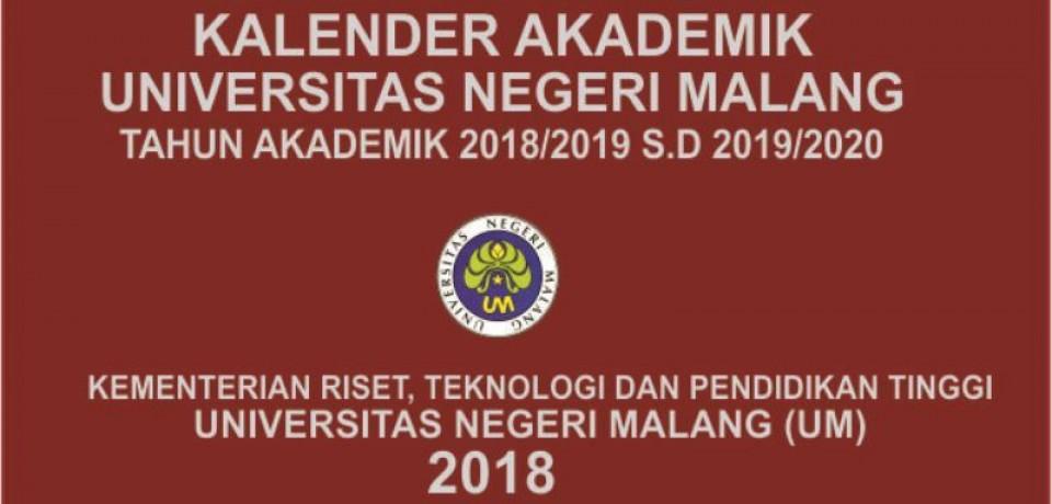 Kalender Akademik 2018/2019 s.d 2019/2020