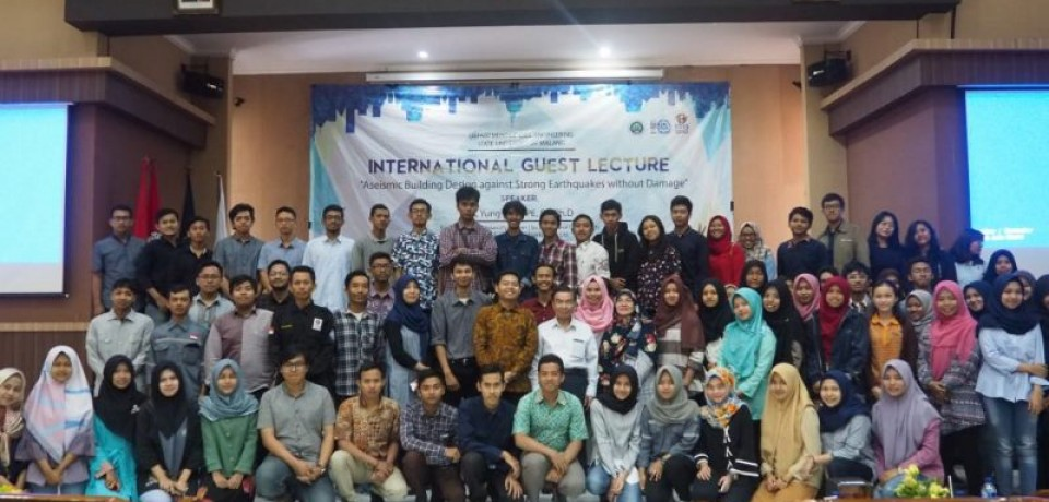 International Guest Lecture | SU, Yung Feng PE, SE, Ph,D