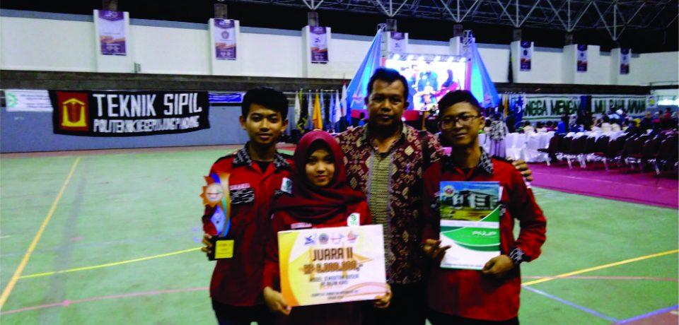 Juara 2 KOMPETISI JEMBATAN INDONESIA ke XIV