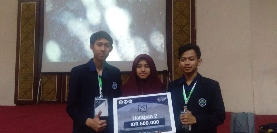 Juara Harapan 2 DAM INNOVATION CONTEST